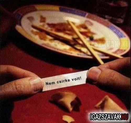 Üzenet a kínaistól