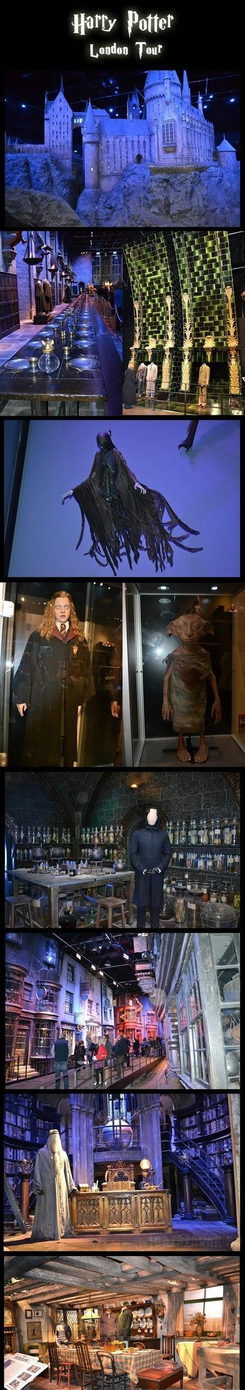 Amit biztosan meg akarsz nézni...Harry Potter múzeum Londonban...