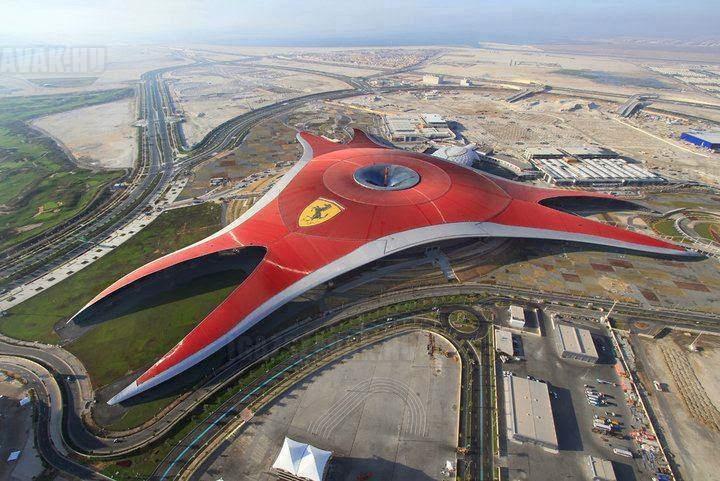 Az Abu Dhabi-ban lévő Ferrari World vidámpark