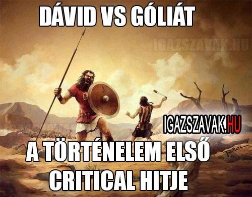 Dávid vs