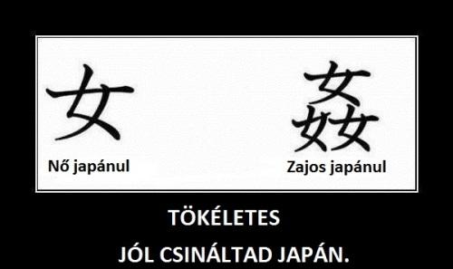 Japán írás, jól csinálod