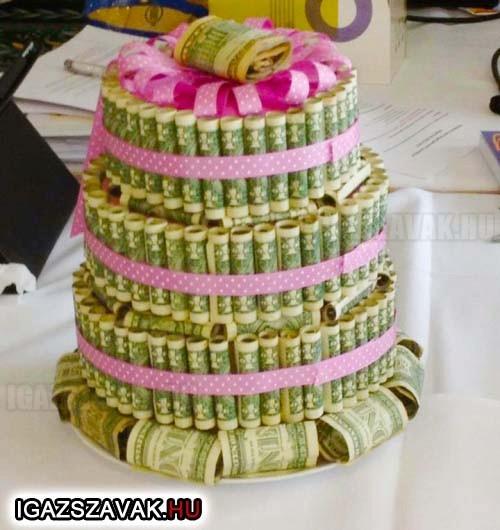 Következő szülinapomra én is ilyen tortát kérek