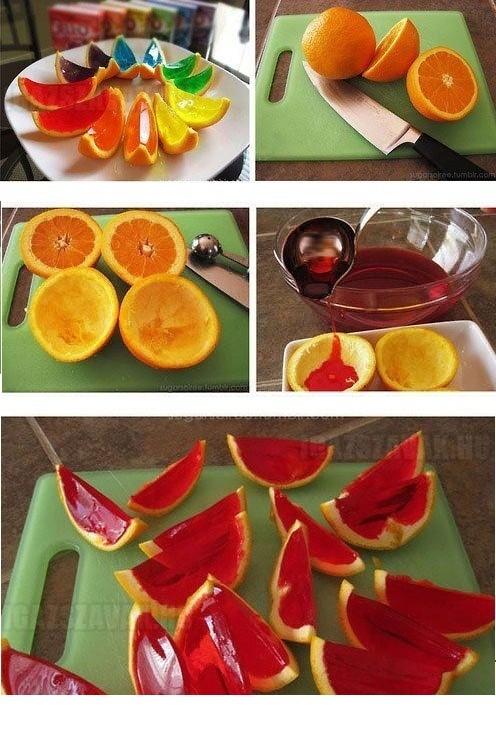 Nézd meg hogy pár darab narancsból mit lehet elkészíteni ha kreatív vagy!