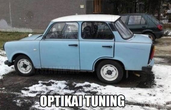 Optikai tuning