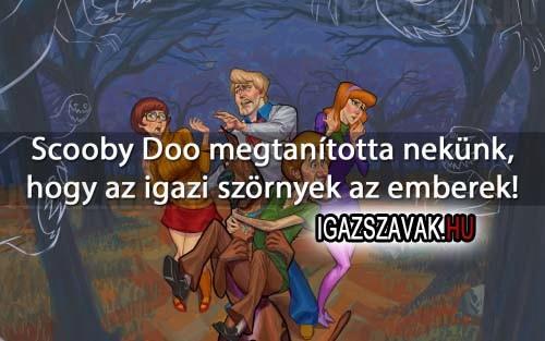 Scooby Doo megtanította