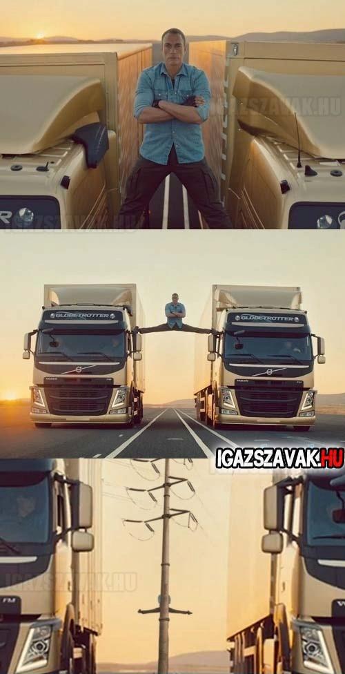 Volvo reklám - Kimaradt jelenet!