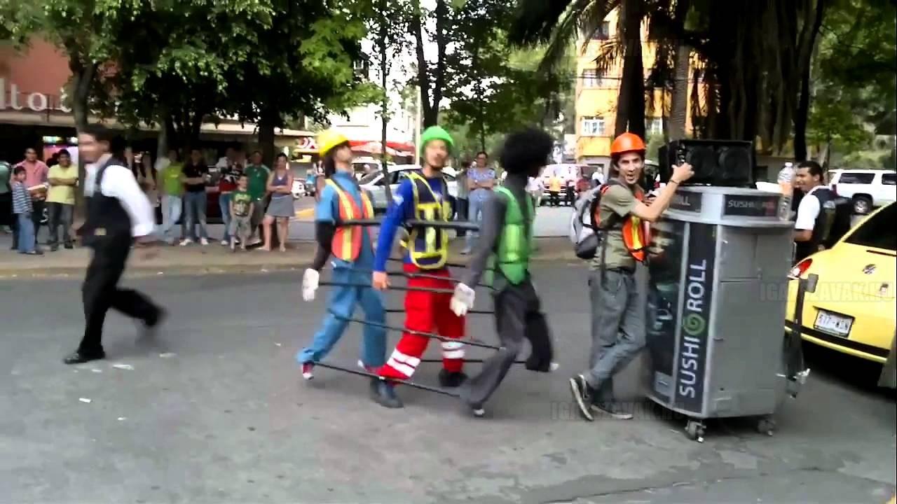 Ilyen utcai táncot még nem láttál!