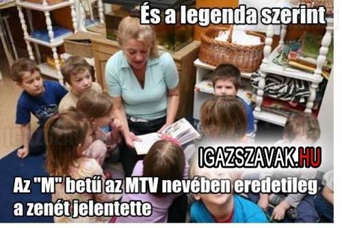 A legenda szerint...