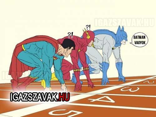 Batman mindig nyer!