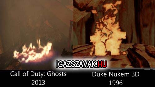 Call of Duty Gosts vs Duke Nukem 3D