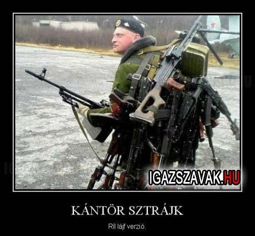 Kántör Sztrájk