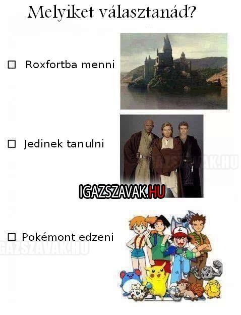 Melyiket választanád