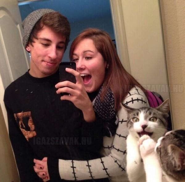 Szóval csináltunk egy közös fotót a barátnőmmel…
