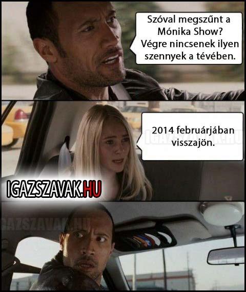 Visszatér a Mónika show