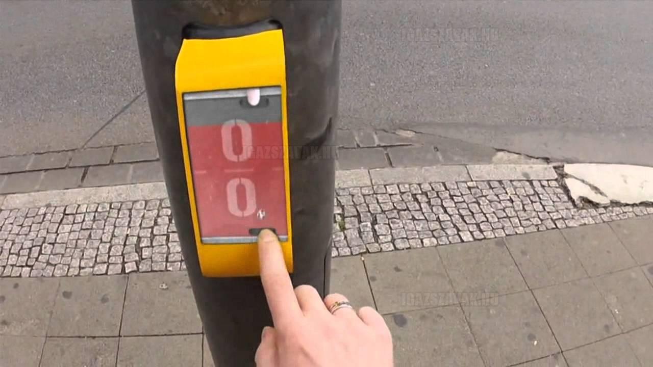 Német közlekedési lámpa, hogy ne unatkozz