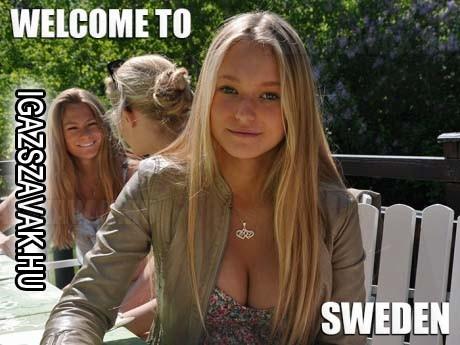 Az egyetlen ok, amiért Svédországba szeretnék utazni