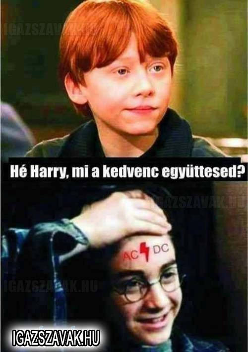 Héé Harry, mi a kedvenc együttesed