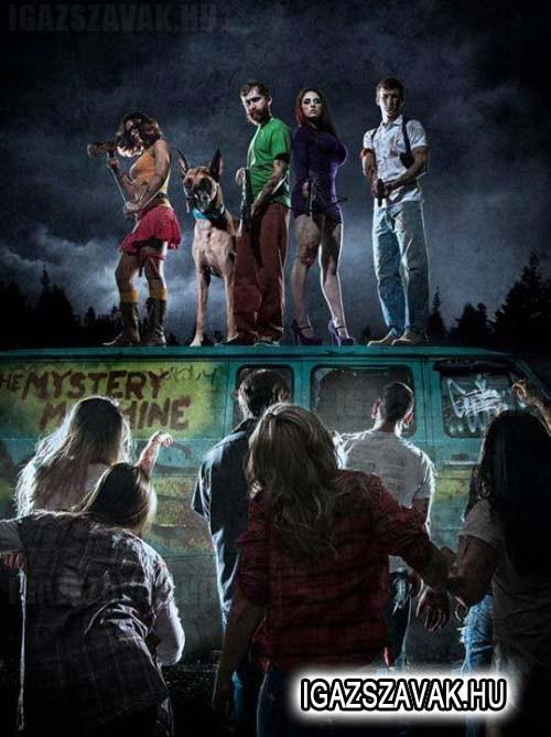 Mikor Scooby-ék bajban vannak