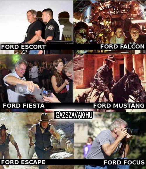 Te melyik Fordot választanád