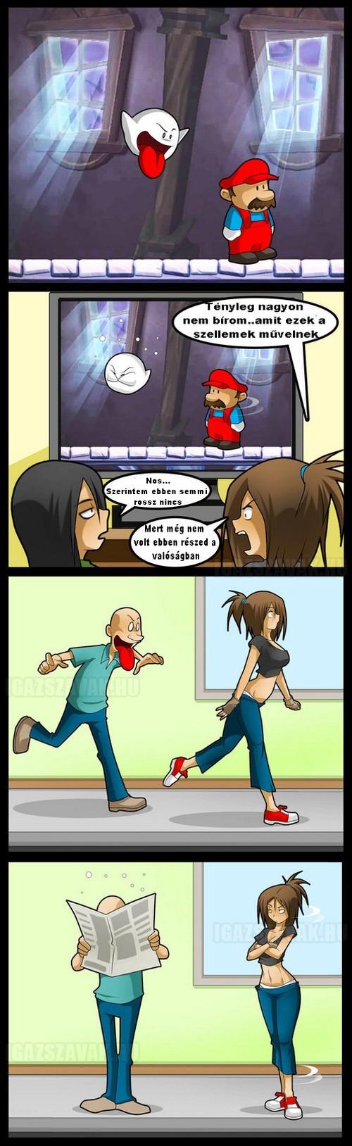 játék vs valóság