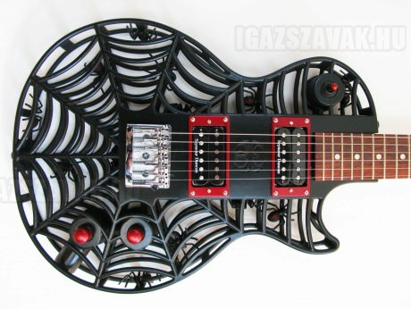 3D Nyomtatott gitár