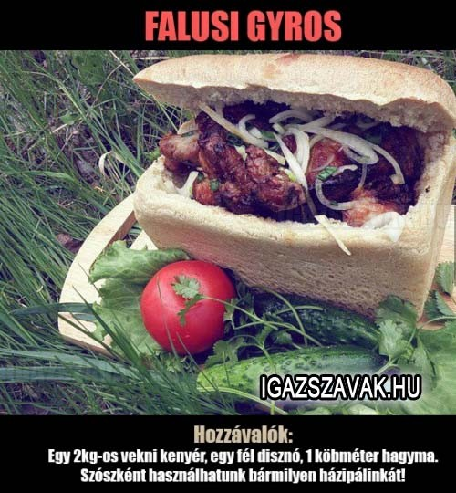 Falusi gyros