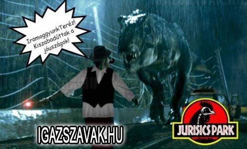 Jurassic Park vidéken