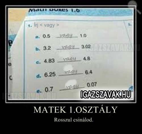 Matek 1