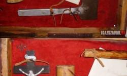 A vámpírvadász, készlet 1890-ből