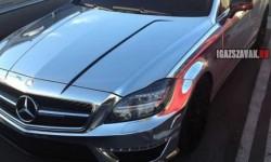 Csak egy Chrome Mercedes