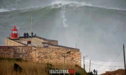 2013 világrekord is lehetne, a legnagyobb hullám Portugáliában