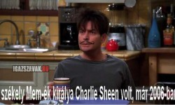A székely MEM-ék királya Charlie Sheen