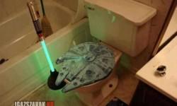 Egy igazi Star Wars rajongó WC-je