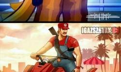 Super Mario Bros és Sonic GTA változata