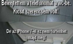 Az IPhone 7-el nagyobb biztonságban leszek!