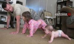 Edzés apával