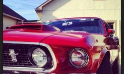 1969 Ford Mustang 429. A mai napig a legnagyobb motorblokk, és még ma is lenyűgöző!