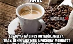 A kávé