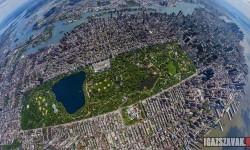 A nap képe: A Central Park felülnézetből