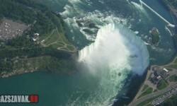 A Niagara vízesés felülről