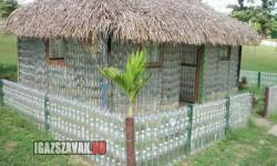 Egy ötletes pet palack ház
