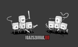 Igazi Gamer vs Kezdő