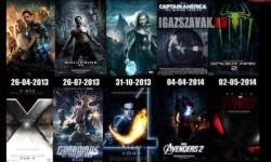 2013-ban megjelenő Marvel filmek. Várod már valamelyiket?