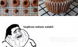 Ferrero  Rochers és Nutellás muffin