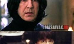 Mr. Potter, miért késett az óráról?
