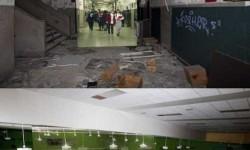 Akkor és most: Egy elhagyott ódon iskola