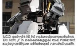 Brutális harci robot