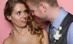 A legőszintébb esküvői fénykép