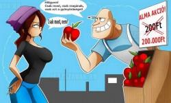 Akciós alma, csak most