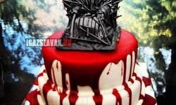Trónok harca torta …